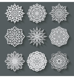 Circular pattern set vector