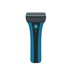 electric shaver icon flat style vector image