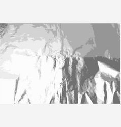 foil texture grunge effect background vector image
