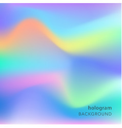 Holographic abstract background cosmic texture vector