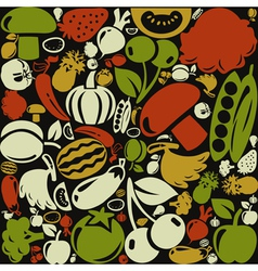 Meal a background3 vector