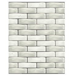seamless texture in form a gray brick wall vector image