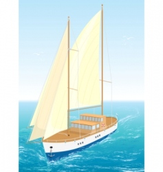 ship illustration vector image