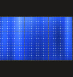 Solar panels sun power battery modules vector