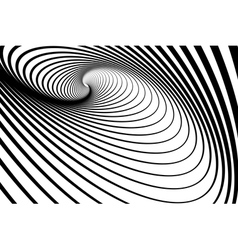 Spiral whirl movement vector
