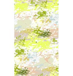 splash paint seamless pattern green pink vector image