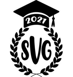Stamps svg graduation academic cap vector