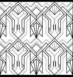 technology with line pattern vector image