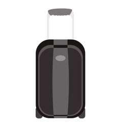 Travel suitcase theme design icon vector image