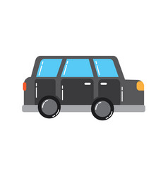 car vehicle transport classic automobile vector image