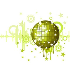 musical background for party vector image vector image
