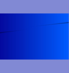Blue gradation and shadows perfectly modern vector