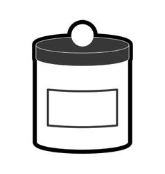 Food container icon Jar design graphic vector