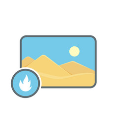 Hot image photo photography picture icon vector