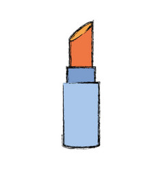 lipstick make up vector image
