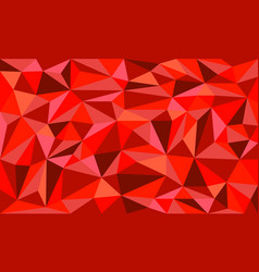 Red ruby low poly art graphic background vector