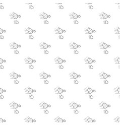 Throwing stones pattern seamless vector