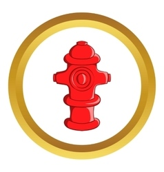 Fire hydrant icon vector