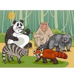 mammals animals cartoon vector image vector image