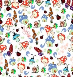 Children seamless texture vector image