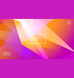 modern abstract polygonal background vector image