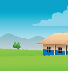 school Africa vector image