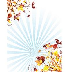 summer grunge vector image vector image