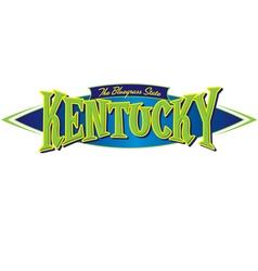 Kentucky The Bluegrass State vector image