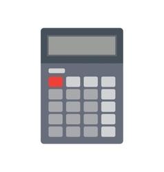 Calculator flat vector image vector image