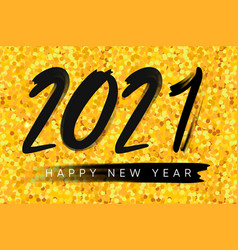 2021 happy new year background merry christmas vector image