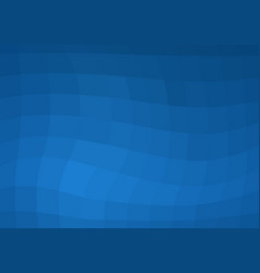 Abstract darkly blue background with square cells vector