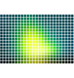 bright yellow green abstract rounded mosaic vector image