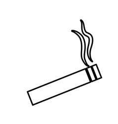 cigarette icon image vector image