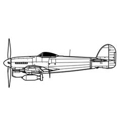 Hawker typhoon vector