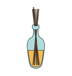 Incense aromatherapy icon image vector