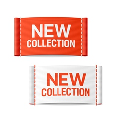 New collection clothing labels vector image vector image