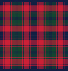 Plaid tartan fabric texture pixel seamless pattern vector