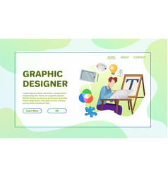 professional occupation flat vector image
