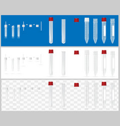 Sterile containers for analysis open and closed vector