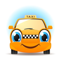 funny taxi vector image
