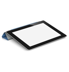 Tablet computer vector image vector image