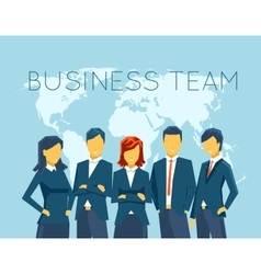Business team human resources vector image