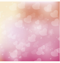 bokeh pink background vector image