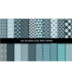 20 Seamless Patterns vector