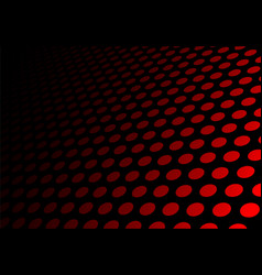 Abstract black red circle mesh 3d background vector