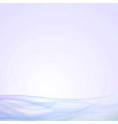 Abstract blue wave background light design vector image