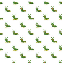 caterpillar pattern vector image