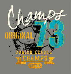 Champs original vector