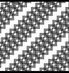 design seamless monochrome grid pattern vector image