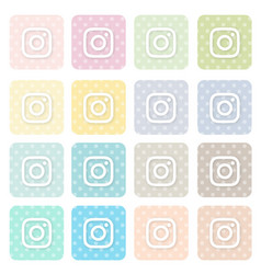 Icons-social4 vector